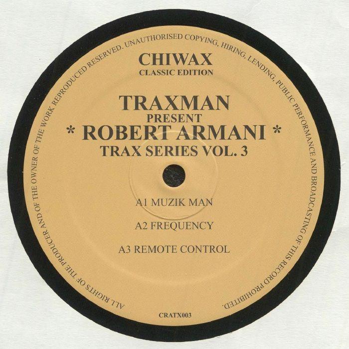 Robert Armani Trax Series Vol 3