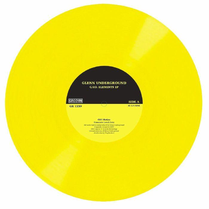 Glenn Underground CVO Elements EP