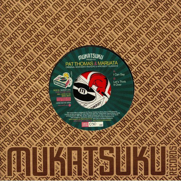 Pat Thomas | Marijata Original Ghanaian Highlife and Afrobeat Classics (Test Pressing)