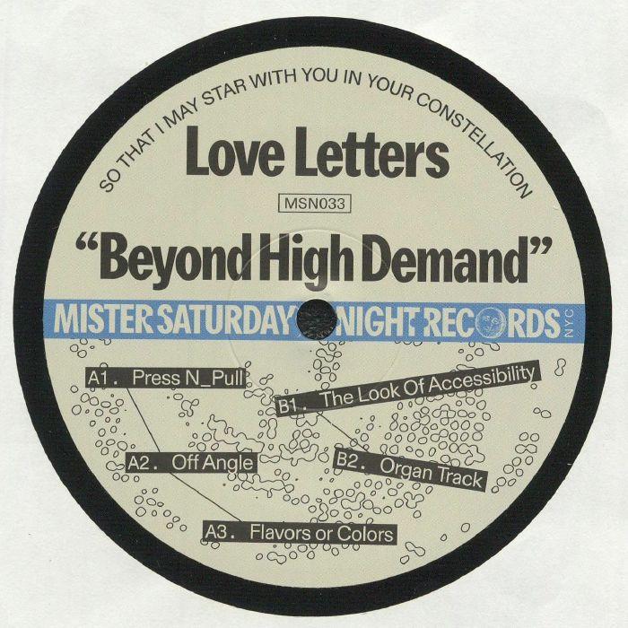 Mister Saturday Night Vinyl