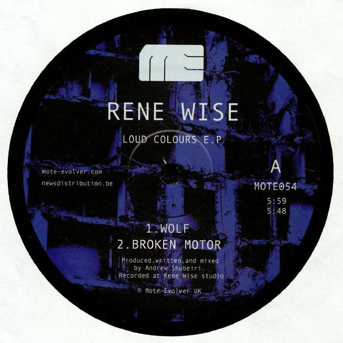 Rene Wise Loud Colours EP