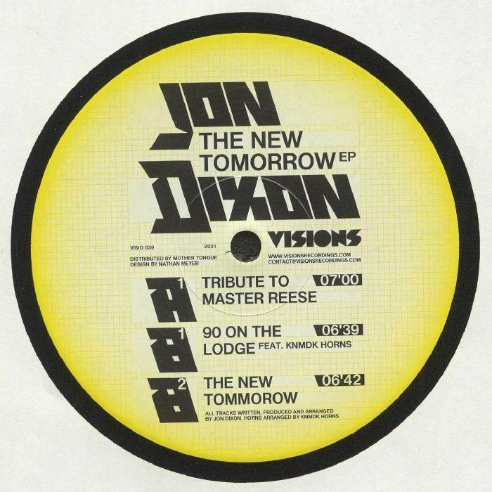 Jon Dixon The New Tomorrow EP