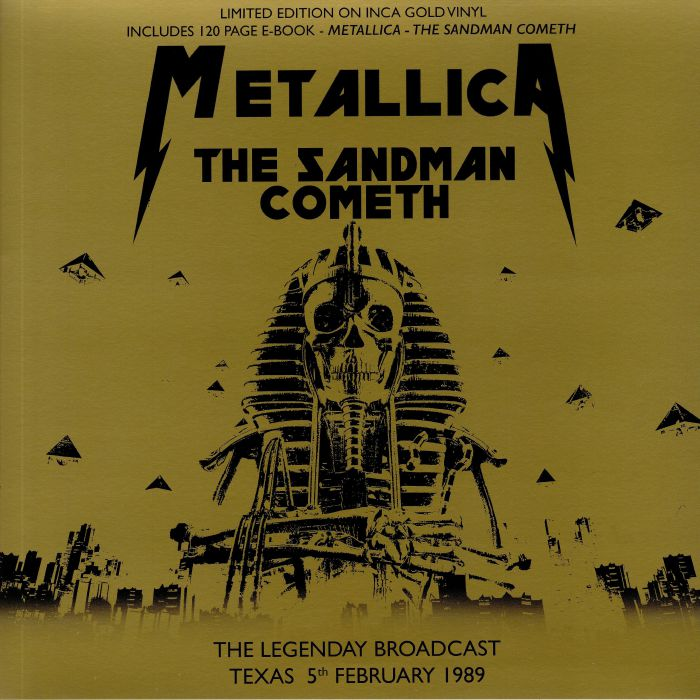 The Sandman Cometh: The Legendary Broadcast Texas 5th Febrauary 1989