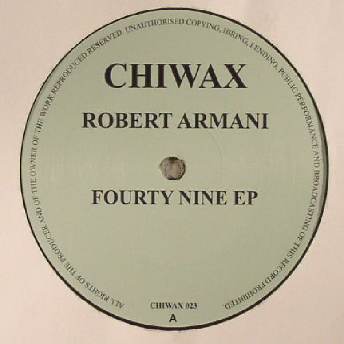 Robert Armani Fourty Nine EP