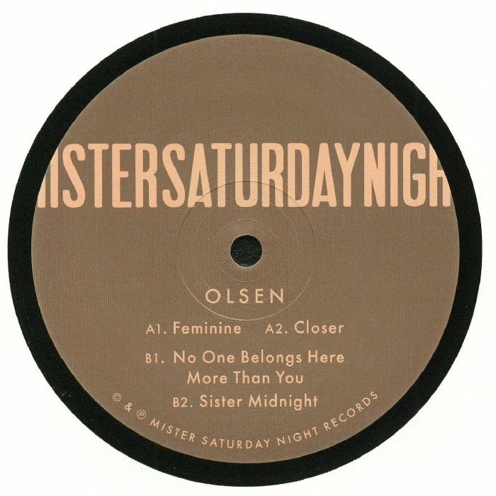 Olsen No One Belongs Here More Than You EP