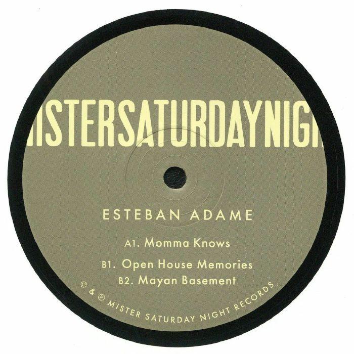 Esteban Adame Mayan Basement EP