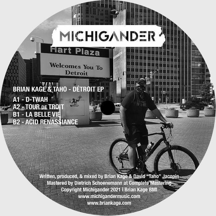 Brian Kage   Taho Detroit EP