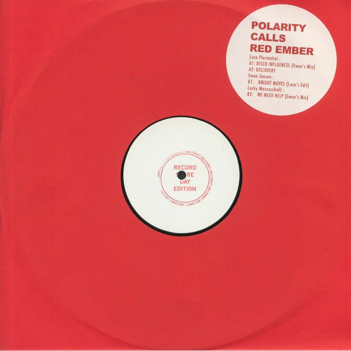 Luca Piermattei | Ewan Jansen | Locky Mazzucchelli Polarity Calls Red Ember (Record Store Day 2020)