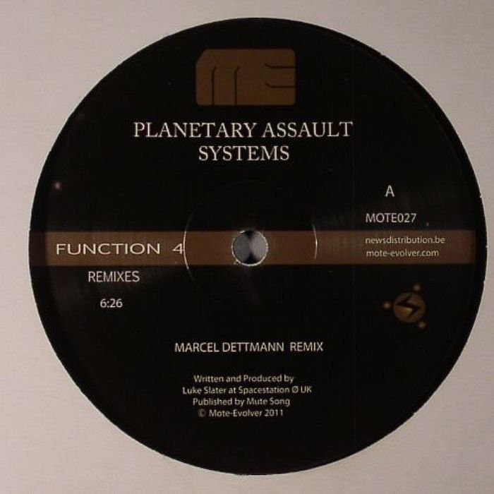Planetary Assault Systems Function 4 Remixes Episode 1