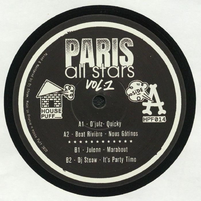 Djulz | Beat Riviere | Julenn | DJ Steaw Paris All Stars Vol 1