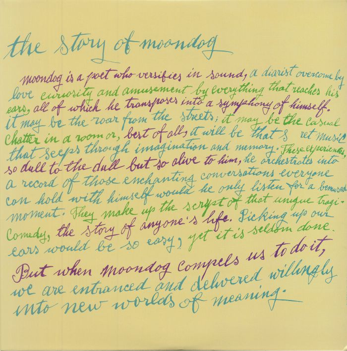 The Story Of Moondog (reissue)