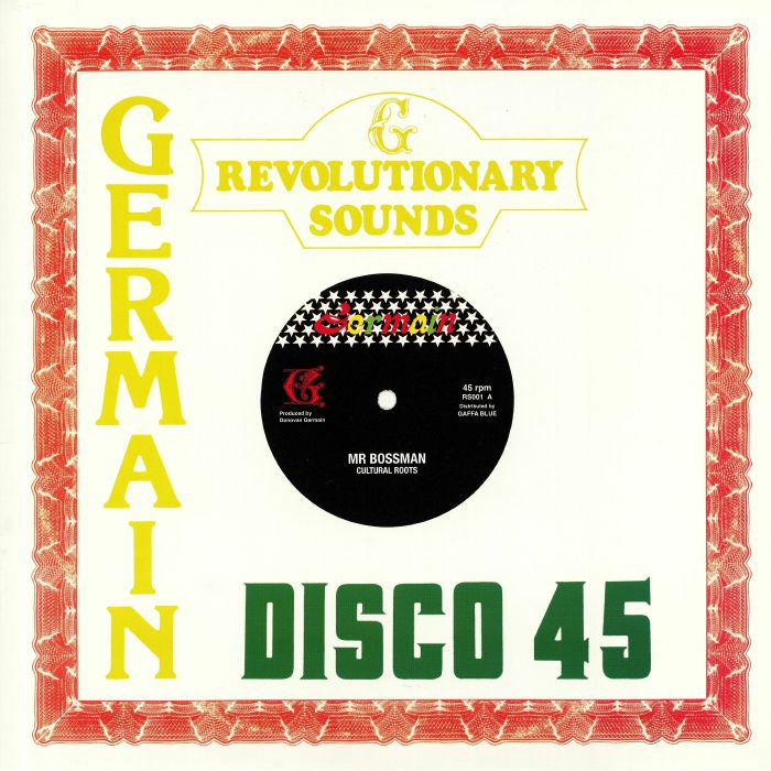 Germain Revolutionary Sounds Vinyl