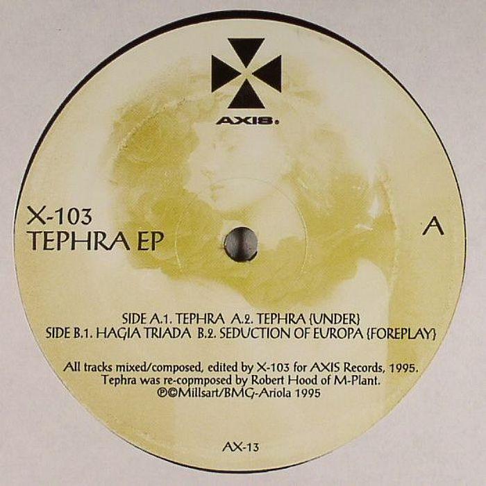 X 103   Jeff Mills   Robert Hood Tephra EP