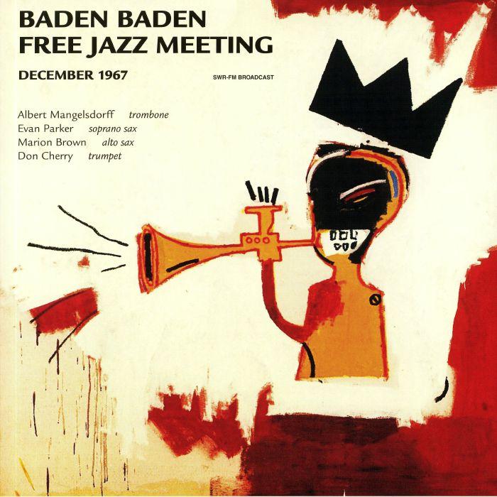 Don Cherry   Marion Brown   Evan Parker   Albert Mangelsdorff Baden Baden Free Jazz Meeting December 1967