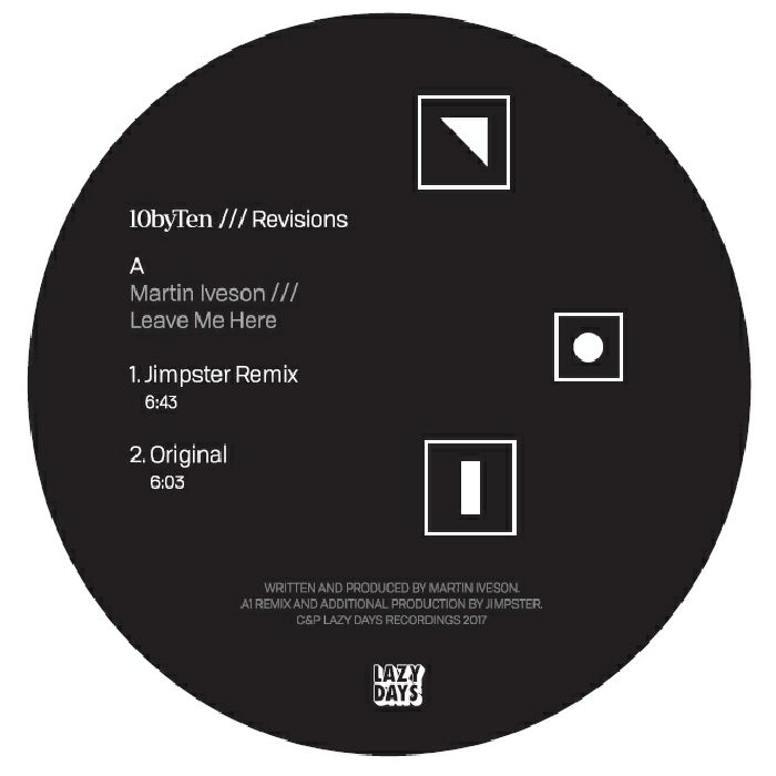 10 by Ten /// Revisions (Jimpster and Fred Everything)