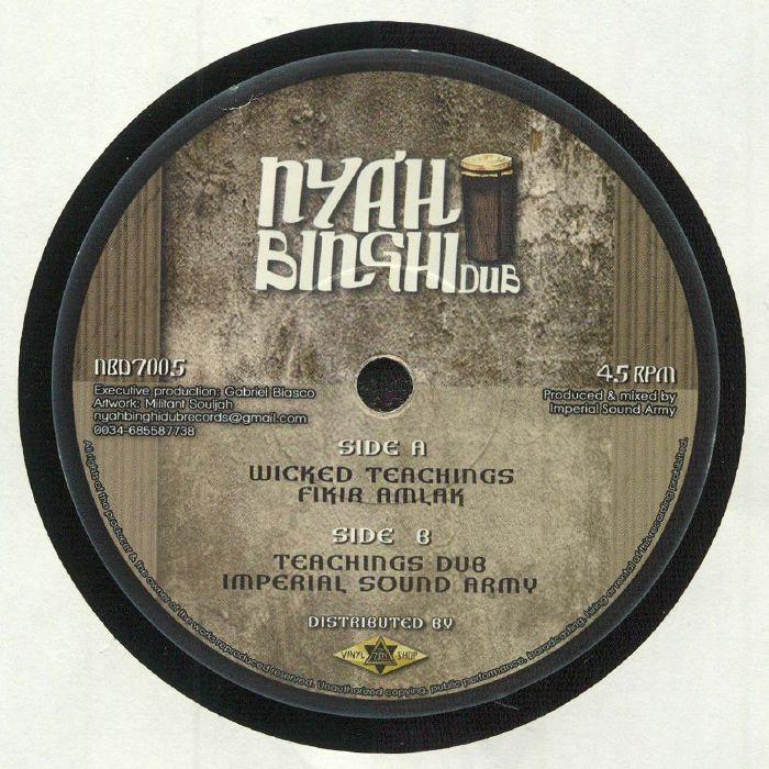 Nyah Binghi Dub Vinyl