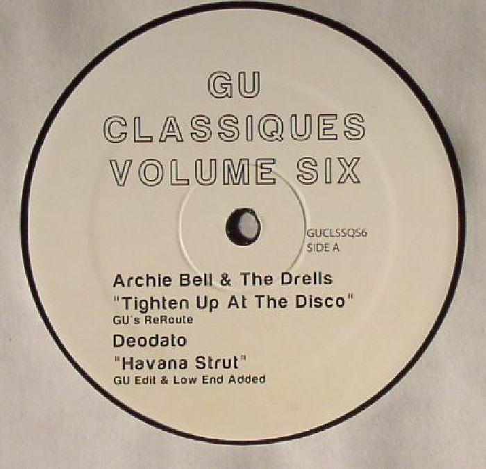Gu | Glenn Underground GU Classiques Volume Six