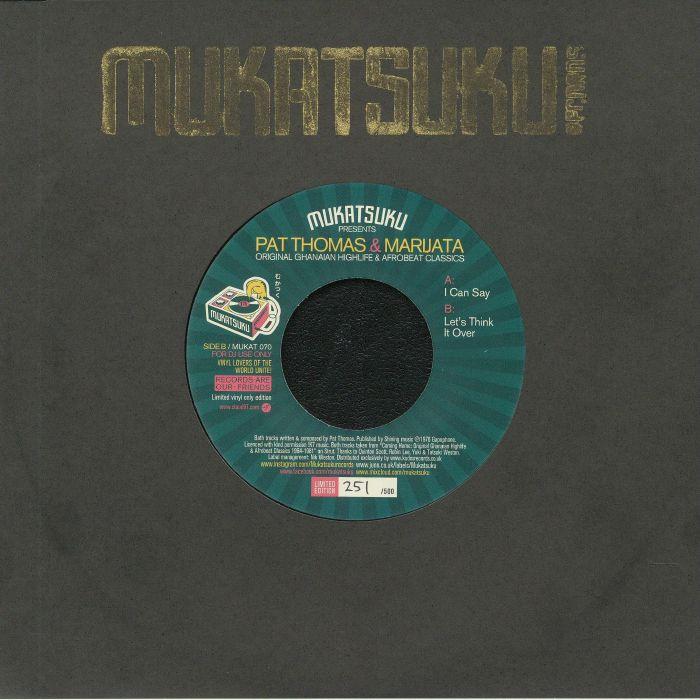 Mukatsuku | Pat Thomas | Marijata Original Ghanaian Highlife and Afrobeat Classics
