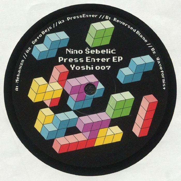 Nino Sebelic Press Enter EP